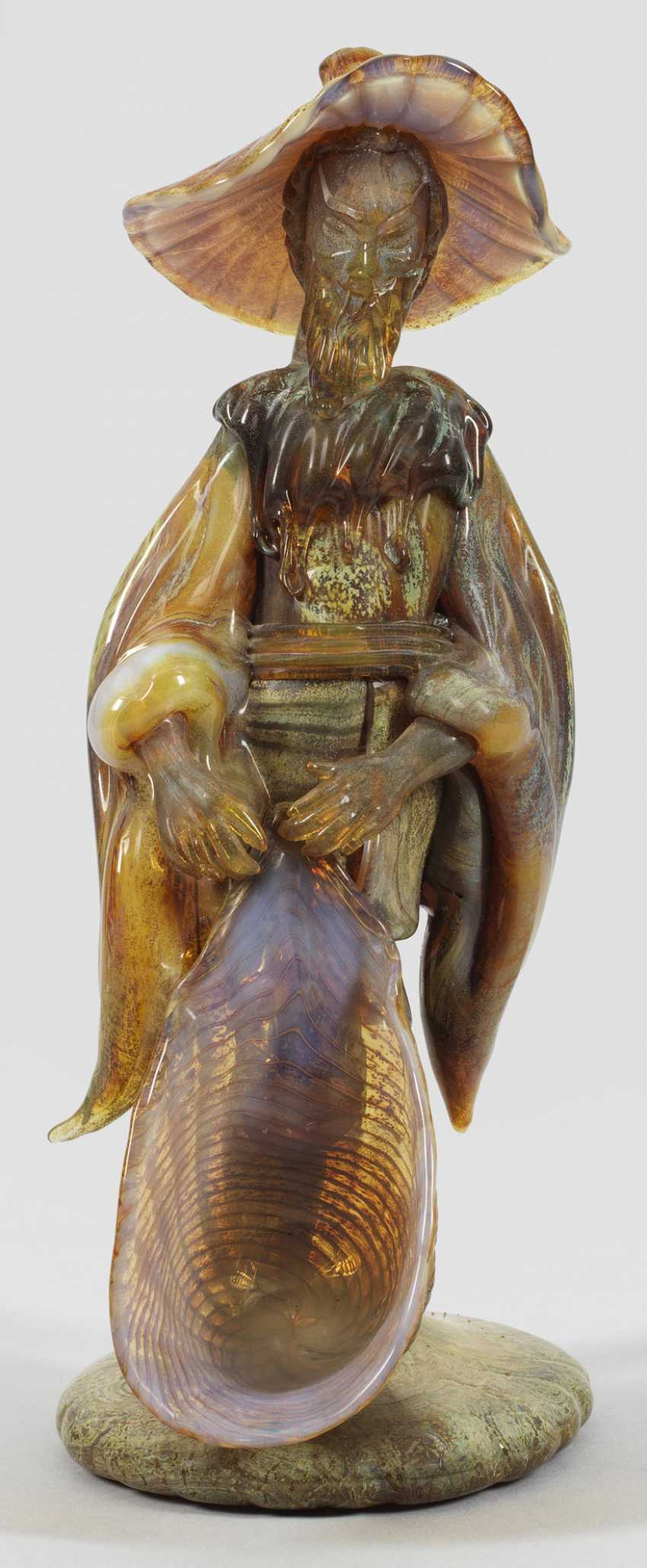 Фигура китайского рыбака от Ermanno Nason - фото 1