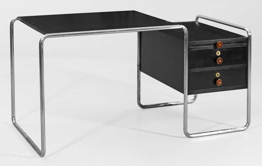 Bauhaus-письменный стол B65 Marcel Breuer - фото 1