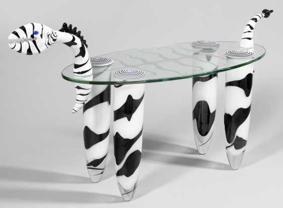 Skulpturaler Стеклянный Журнальный Столик - фото 1