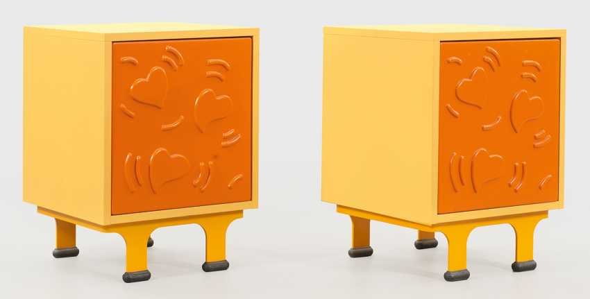 Пару дизайн ночного шкафы с Keith Haring-Декор - фото 1