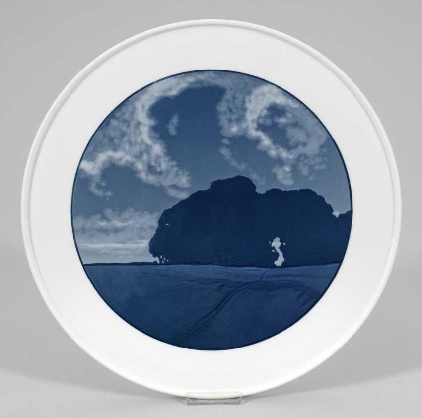 Настенные тарелки с изображением ландшафта - фото 1