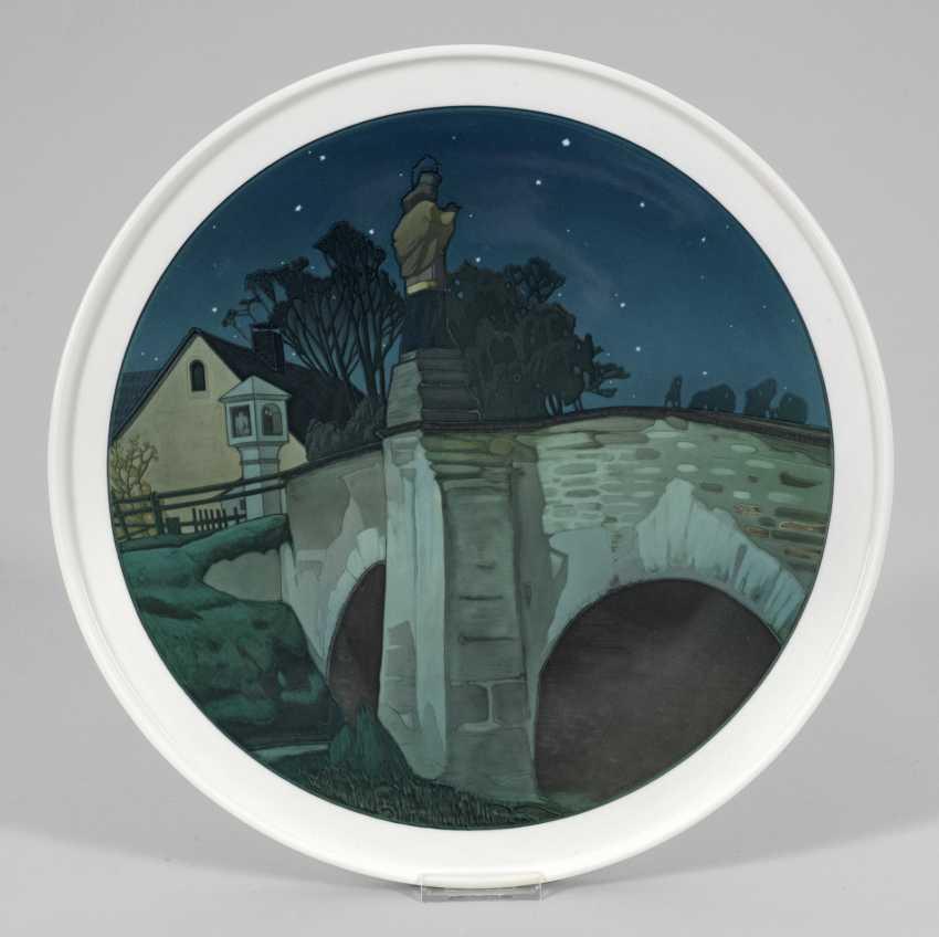 Настенные тарелки с ST. Nepomuk мост - фото 1
