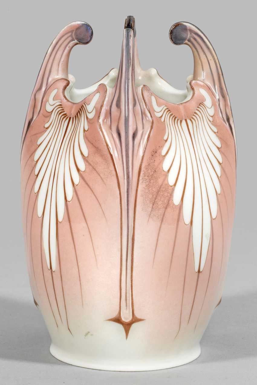 В стиле модерн ваза с пальметтами Декор - фото 1
