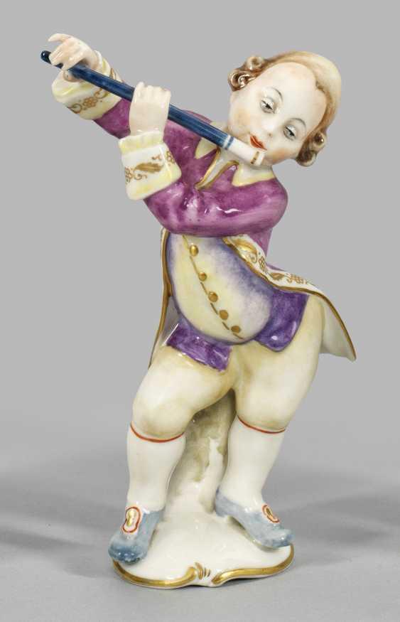 Музыкант с флейтой. Оригинальное название - фото 1