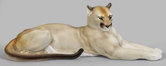 Лежащего Пума - фото 1