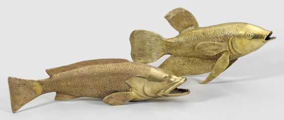 Две большие фигурки Рыб - фото 1