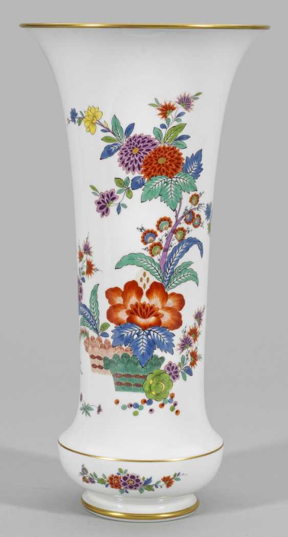 Большой Ziervase с индийской цветочный Декор - фото 1