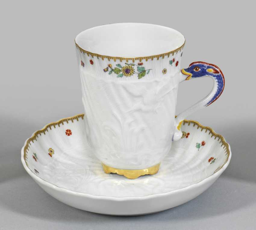 Cocoa Cup with Swan service-decor - photo 1
