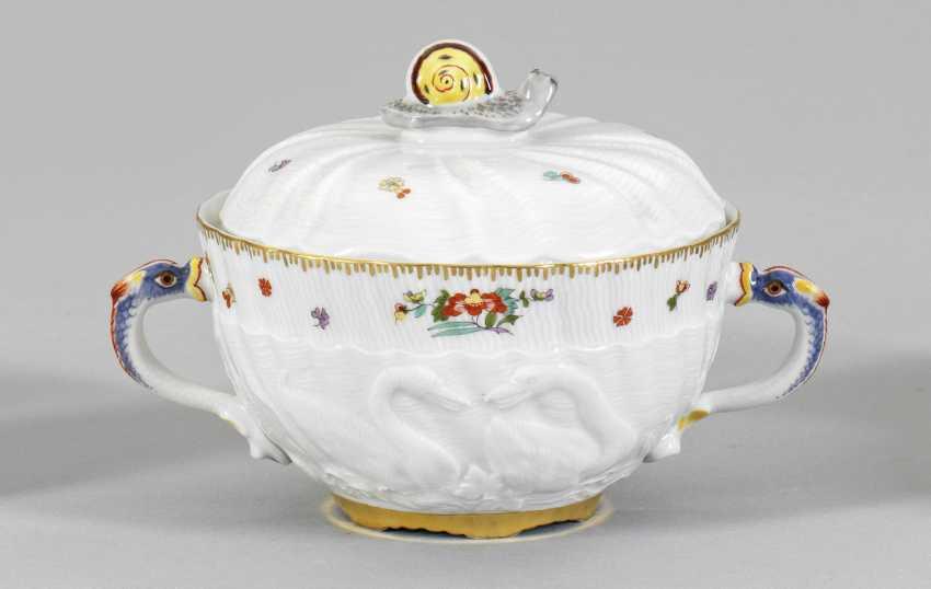 Buillon чашка Лебедь с сервис-Декор - фото 1