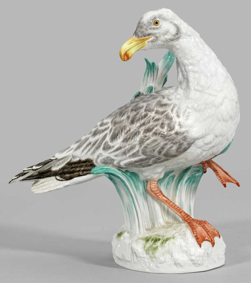 Большая фигурка серебряная Чайка - фото 1
