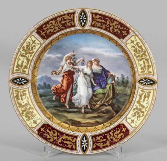 """Изображения тарелка """"танец трех граций"""" - фото 1"""