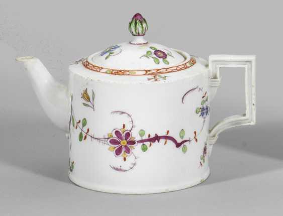 Чайник со Скалы и птицы Декор - фото 1