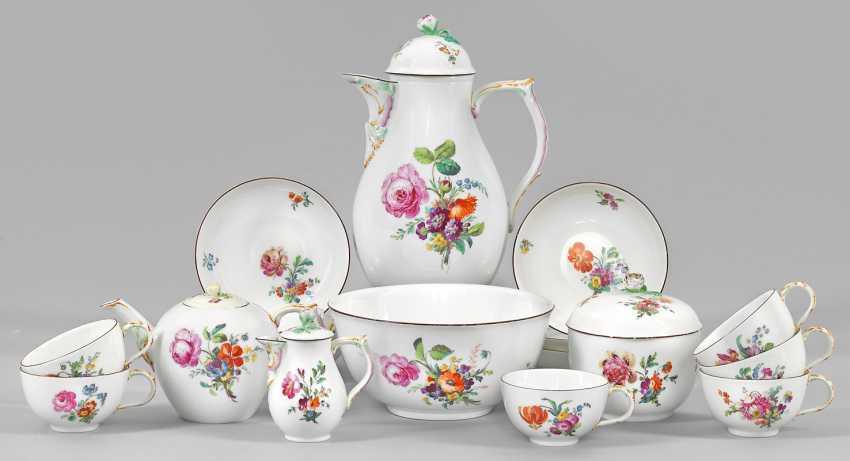 Кофейный и чайный сервиз на 6 персон - фото 1