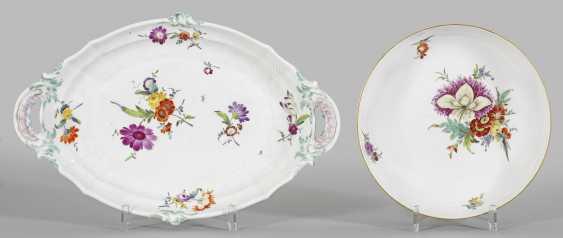 Zierschale и Anbietplatte с цветочный Декор - фото 1