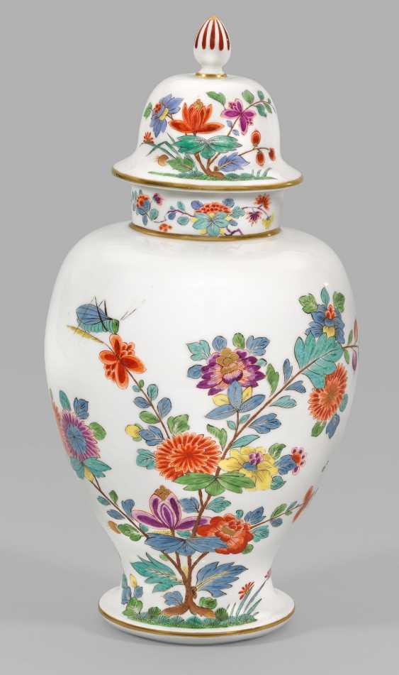 Большая ваза с крышкой kakiemon Декор - фото 1
