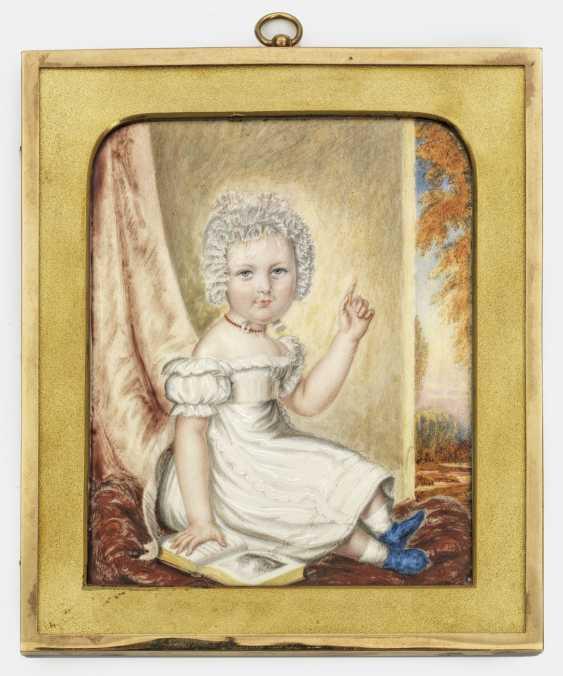 Викторианский Детский Портрет - фото 1