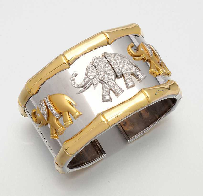Экстравагантный браслет с слон Декор - фото 1