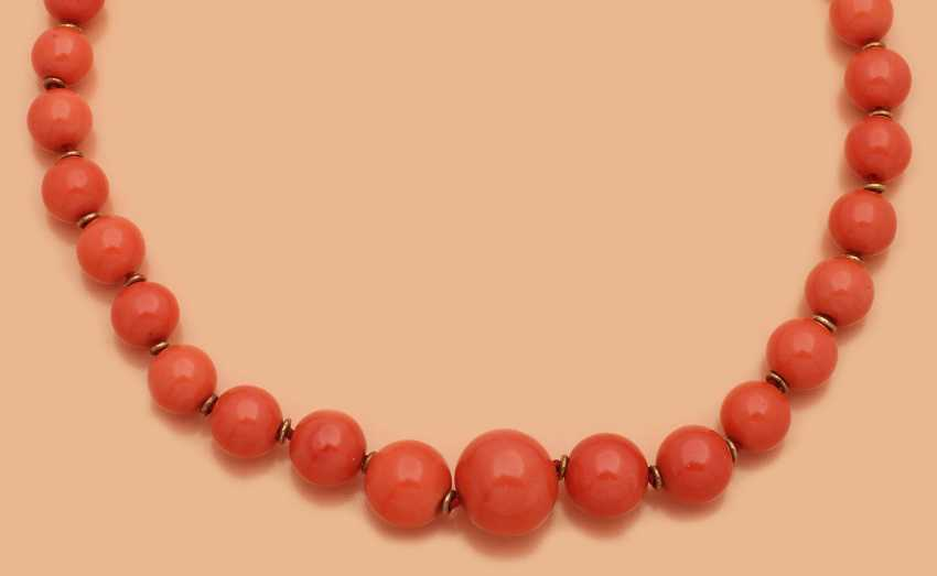 Прекрасный Коралл-Ожерелье - фото 1