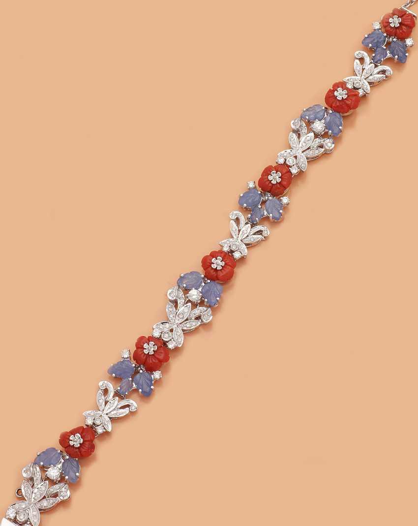 Очаровательные Сапфир-Diamantarmband - фото 1