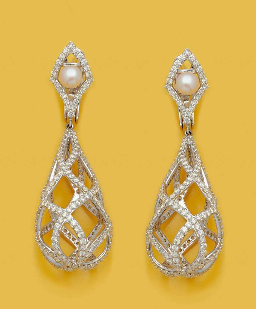 Несколько экстравагантный алмаз-Pendeloques - фото 1