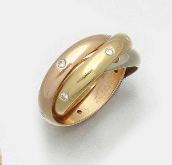 Классическая Троица кольцо Cartier - фото 1