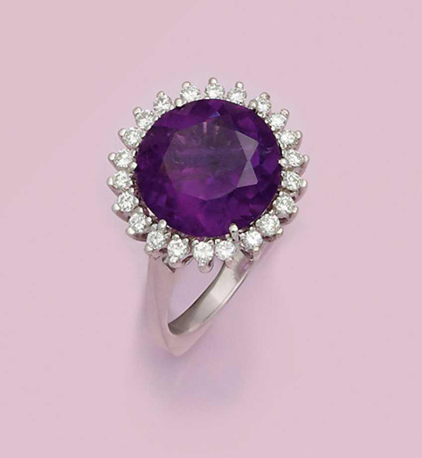 Feiner Amethyst-Ring - Foto 1