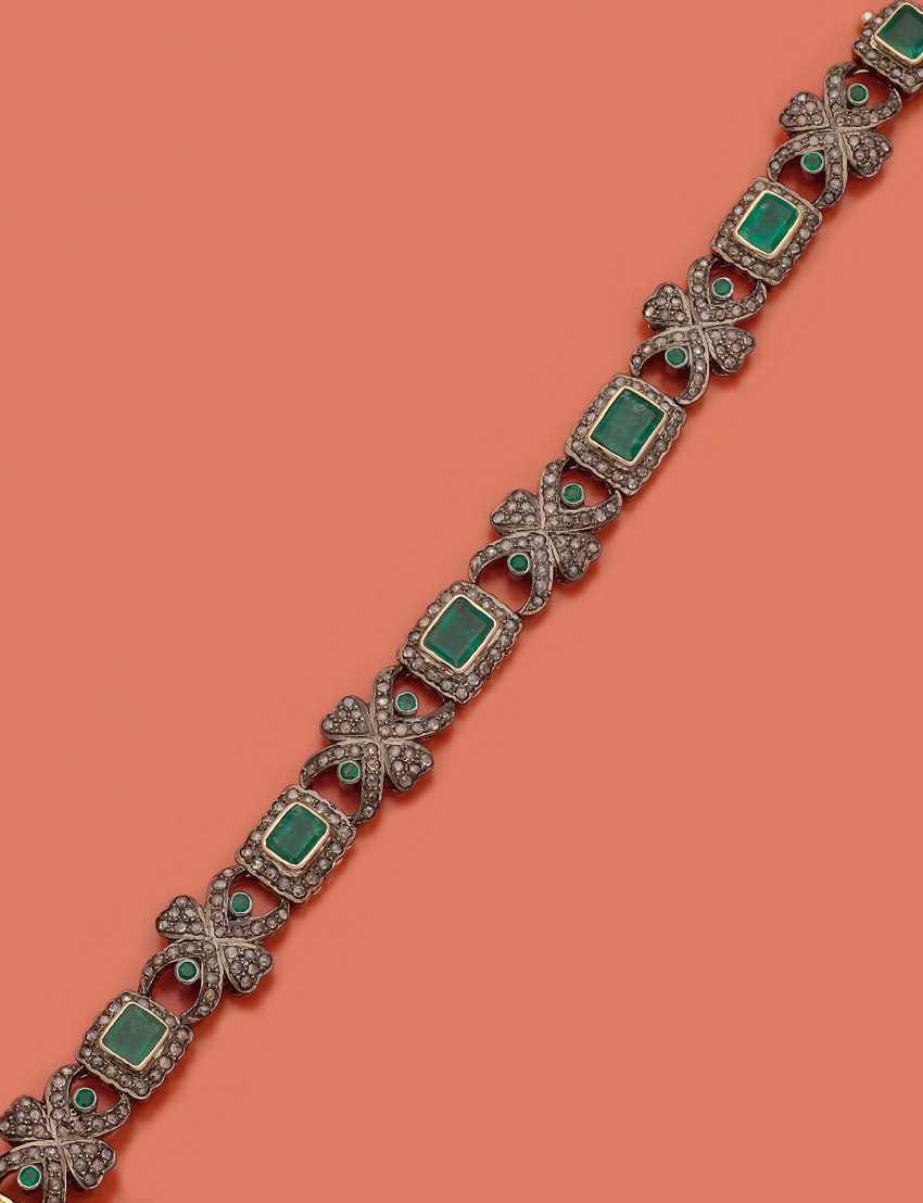 Belle Epoque Smaragd-Armband - Foto 1