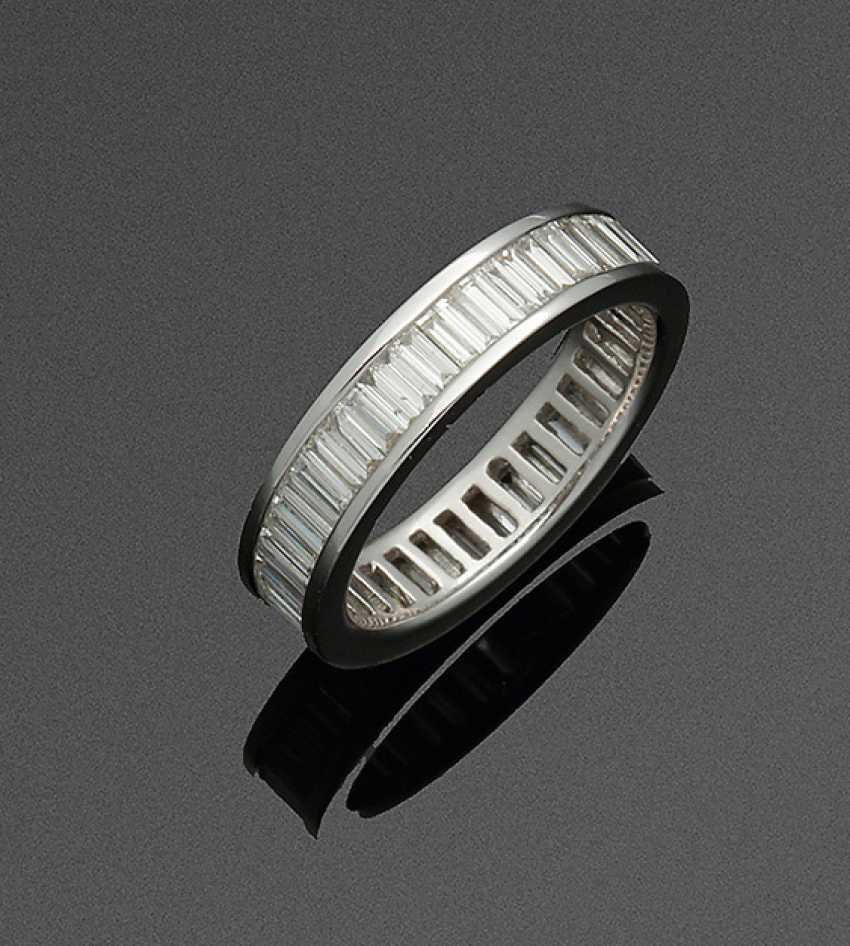 Высокое Качество Полный Памяти-Бриллиантовое Кольцо - фото 1