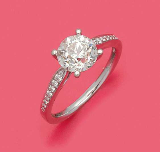 Шикарная Алмаз Пасьянс Кольцо - фото 1