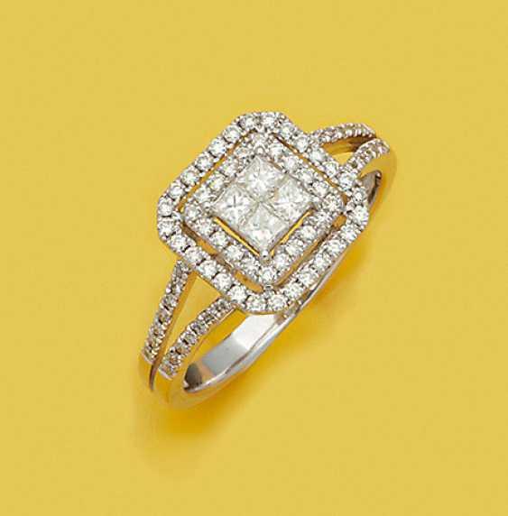 Точный Бриллиантовое Кольцо - фото 1
