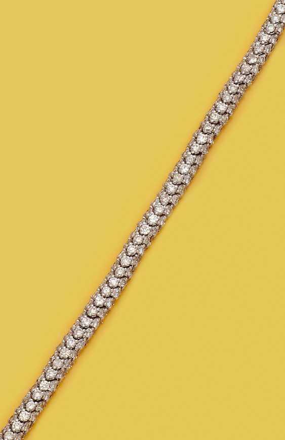 Elegantes Cocktailarmband mit Brillanten - Foto 1