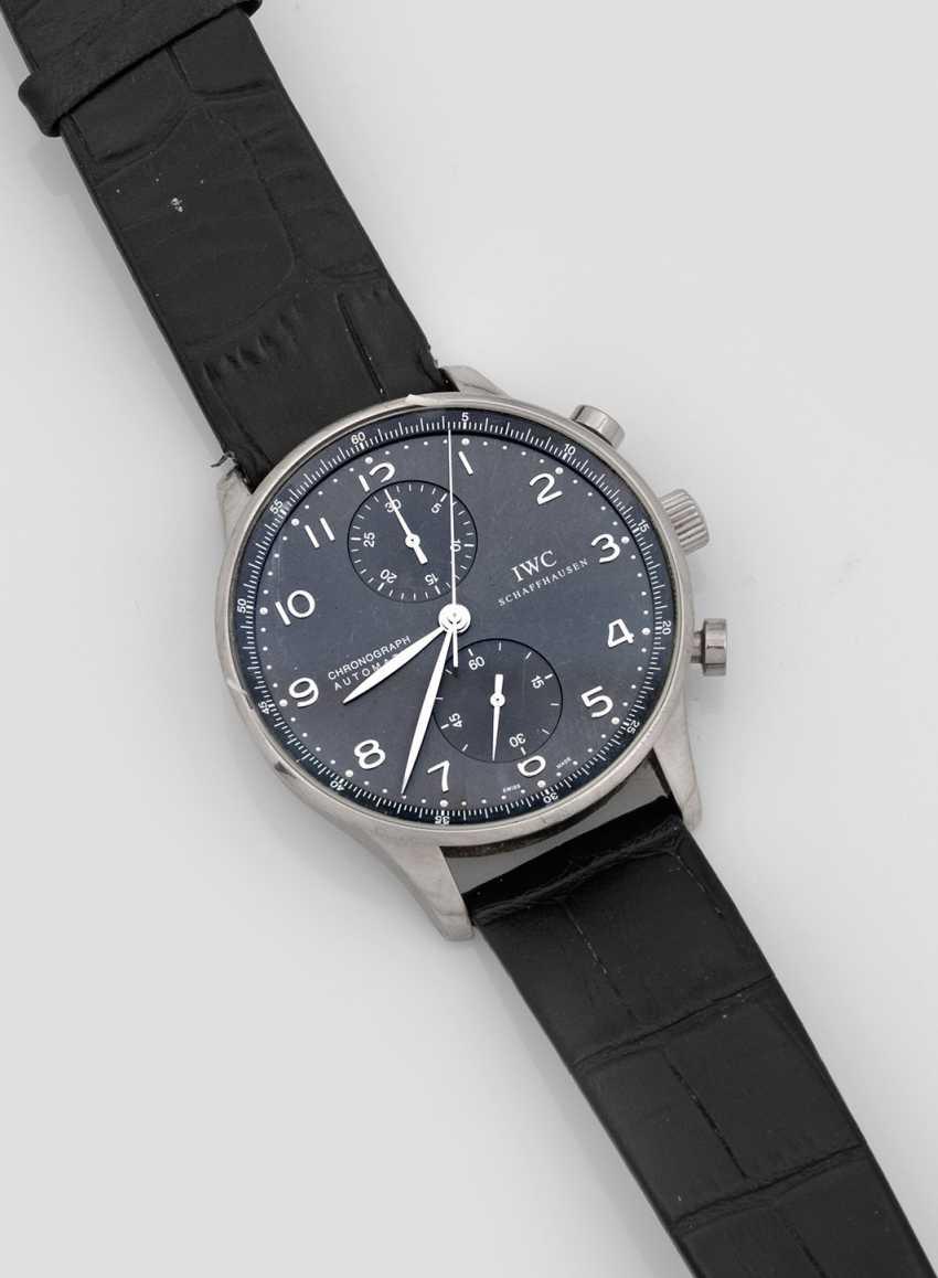 Мужские наручные часы от IWC Schaffhausen - фото 1