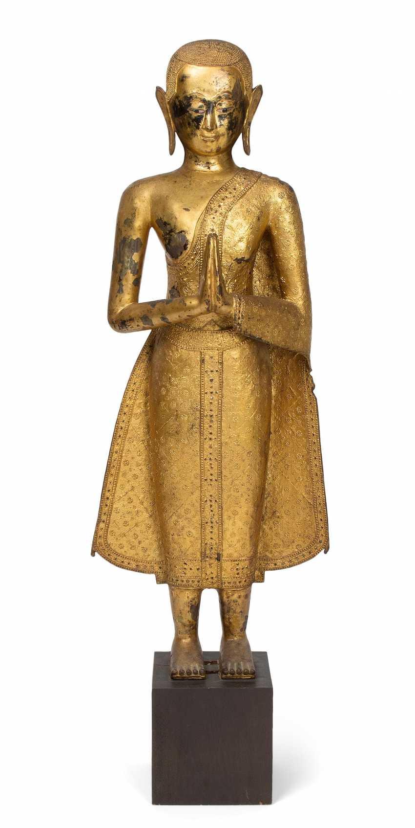 Standing Monk - photo 1