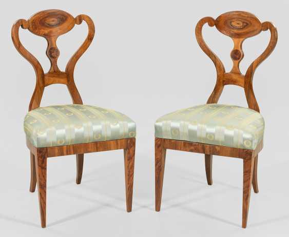 Пара бидермейер стулья Иосифа weidenweg - фото 1