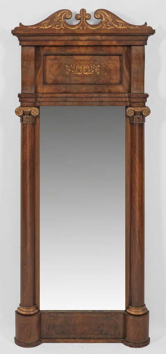 Большой Бидермейер-Настенное Зеркало - фото 1