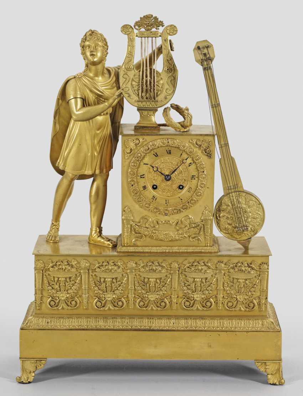 Империя-Figurenpendule - фото 1