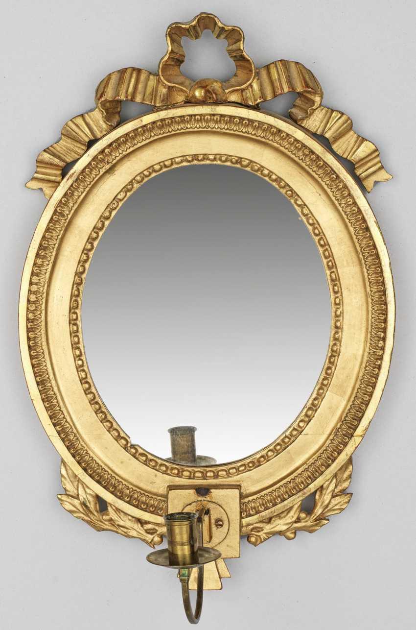 Louis XVI зеркало applike - фото 1