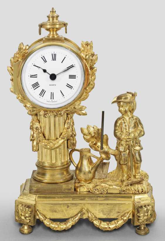 Маленький Людовик XVI-настольные часы - фото 1