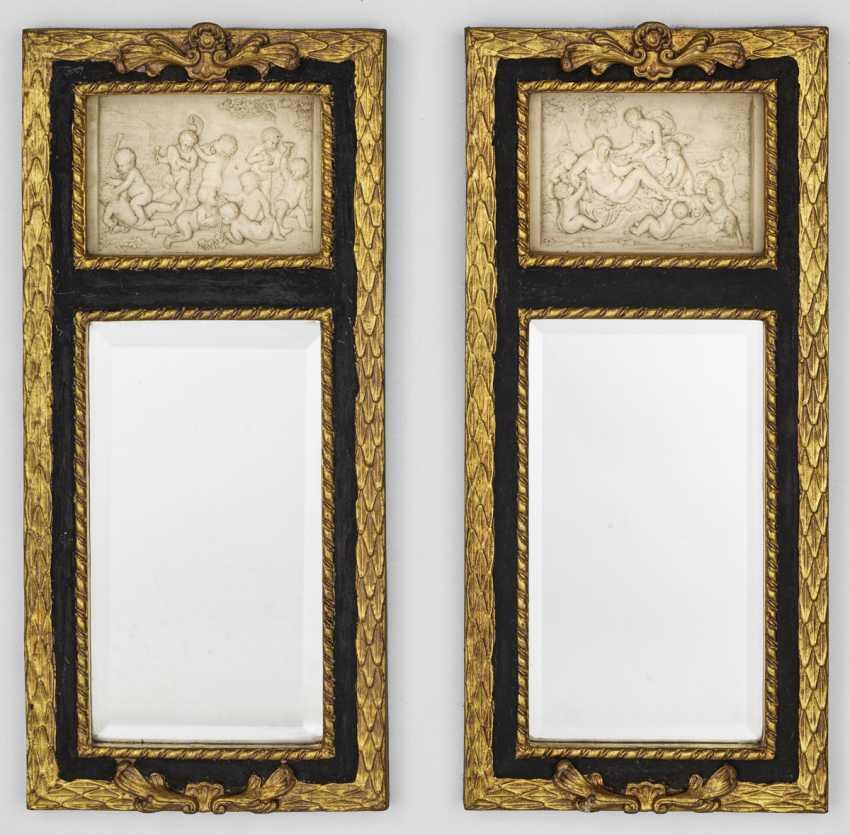 Пара небольших декоративных стрелка зеркало - фото 1