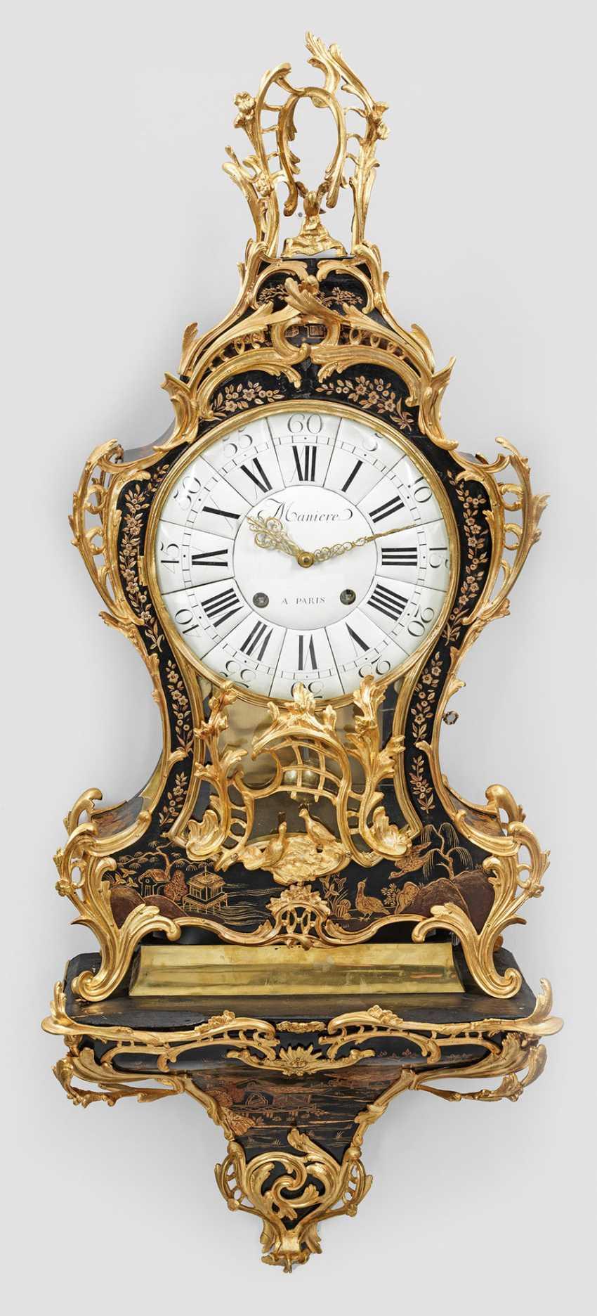Внушительный Людовика XV-Pendule с стиле Шинуазри - фото 1