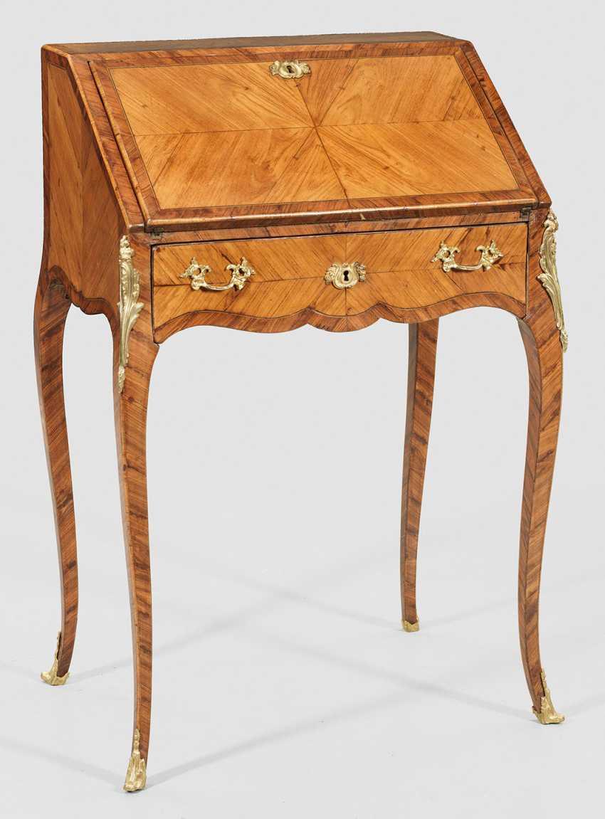 Маленький Луи XV-женская секретарь - фото 1