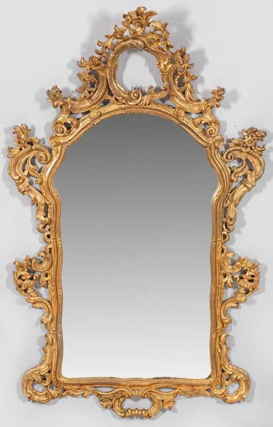 Большое Рококо Настенное Зеркало - фото 1