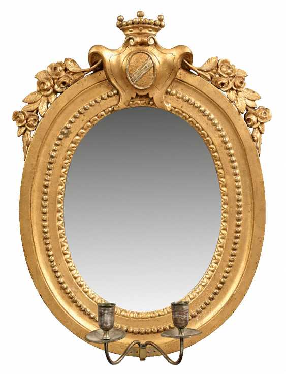 Людовик XVI-настенное зеркало - фото 1