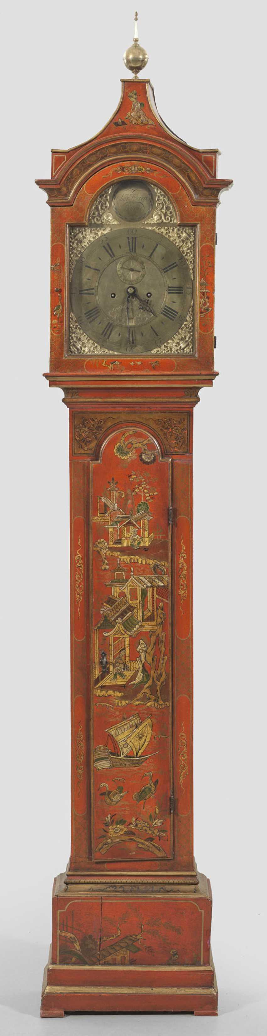 Пола напольные часы с стиле Шинуазри - фото 1