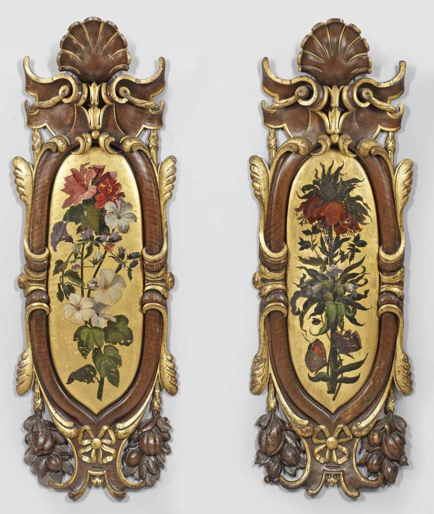 Пара большой роскошный Louis Philippe-настенные panneaux - фото 1
