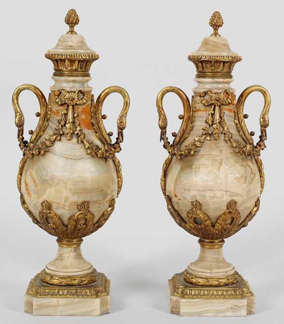 Пара Людовика XVI, большой вазы - фото 1