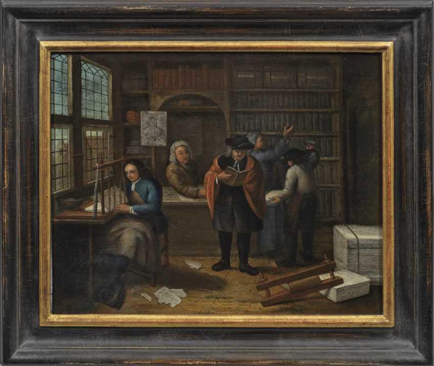 Голландский или фламандский живописец барокко - фото 1