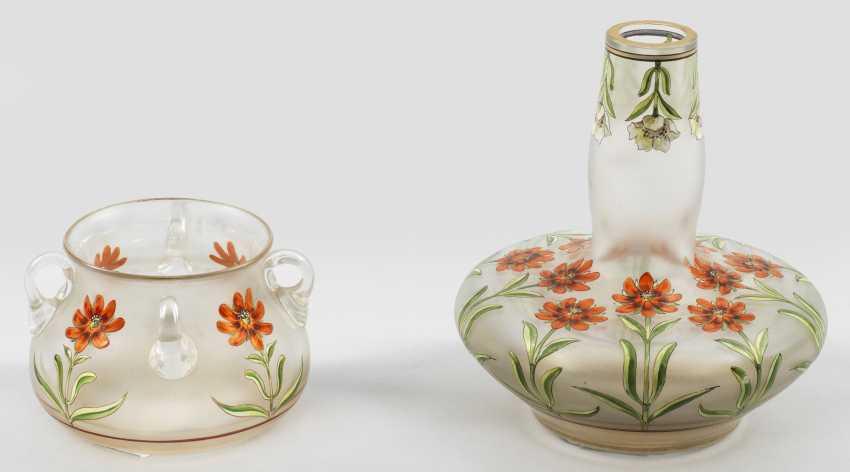 Два модерн-вазы Fritz Heckert - фото 1