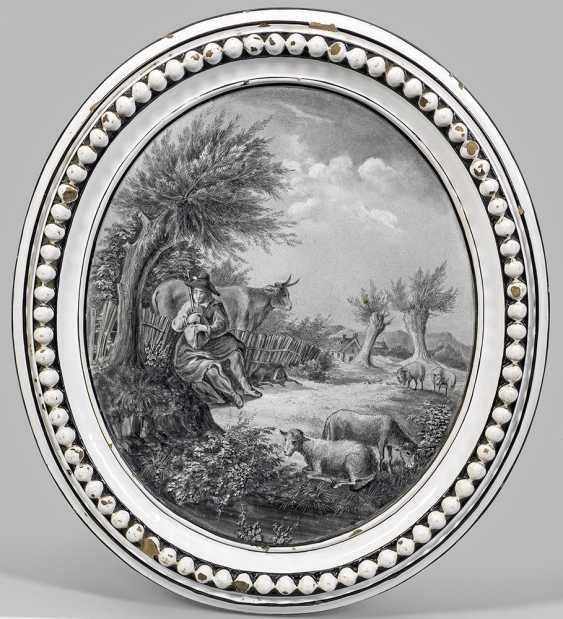 Изображения пластины сцена с пастухом - фото 1