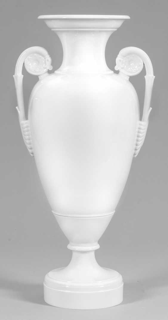 Большой Шинкеля ваза розетка с ручками - фото 1